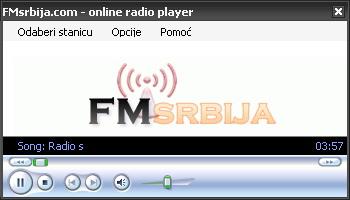 FMsrbija online radio player
